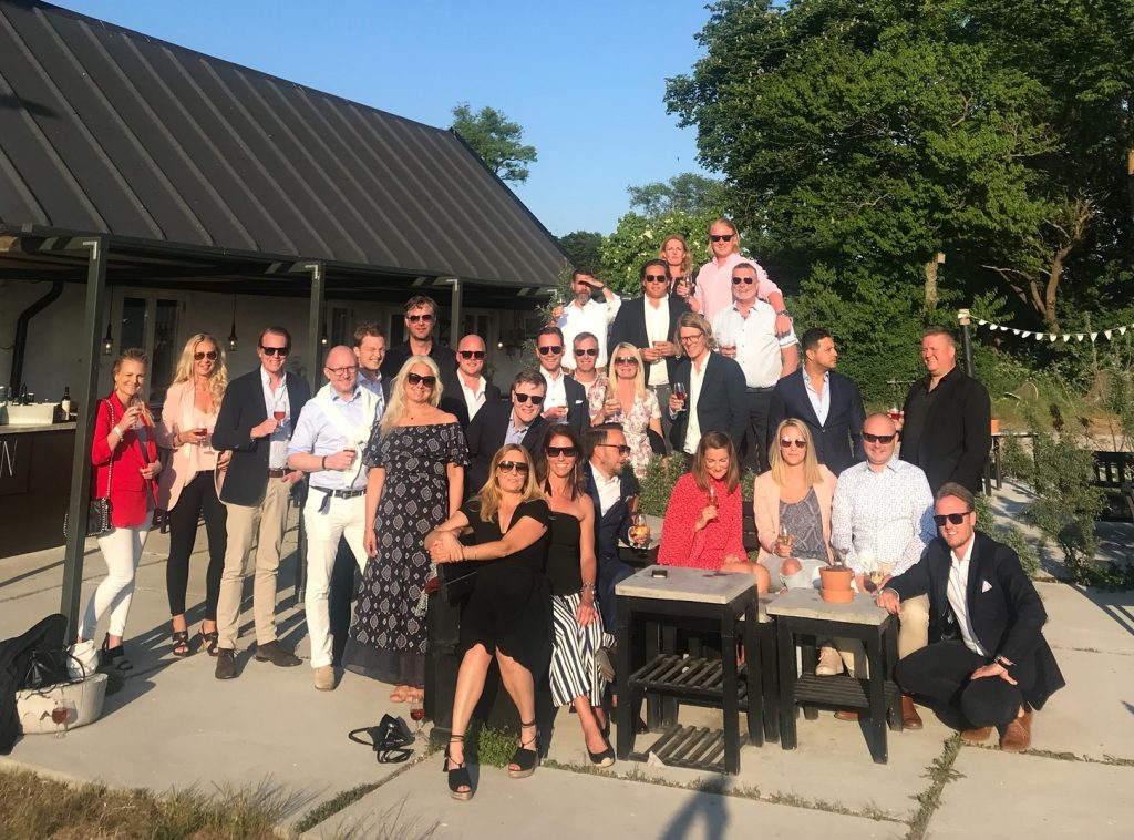 airtime sales team in the sun