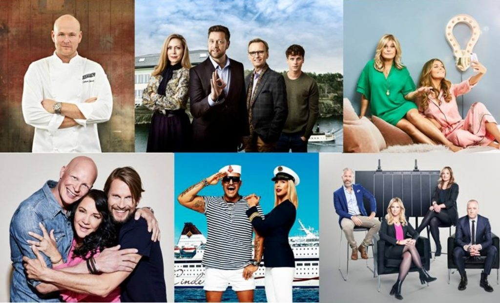 collage of tv programs