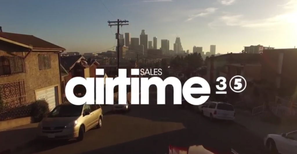 airtime sales banner